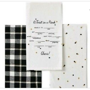 Kate Spade All in Good Taste 3 Pc. Kitchen Towels